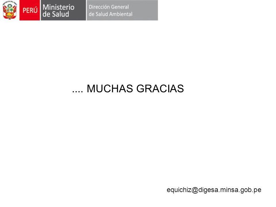 .... MUCHAS GRACIAS equichiz@digesa.minsa.gob.pe