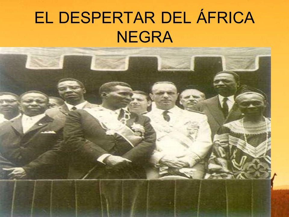 EL DESPERTAR DEL ÁFRICA NEGRA