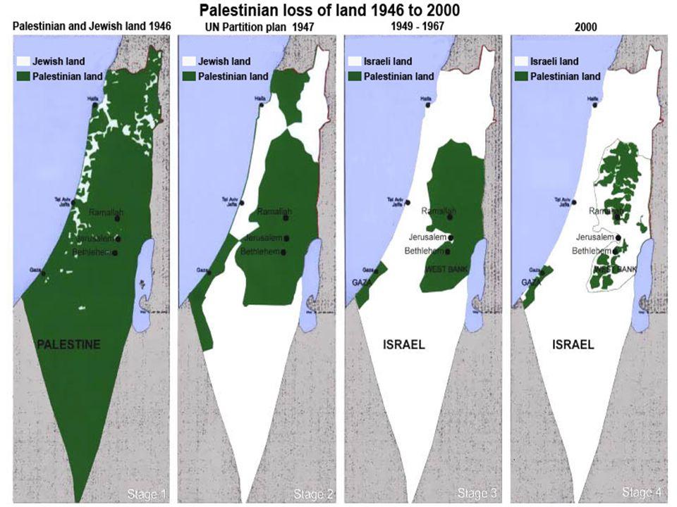 Las raíces del conflicto palestino-israelí se hunden en la historia.