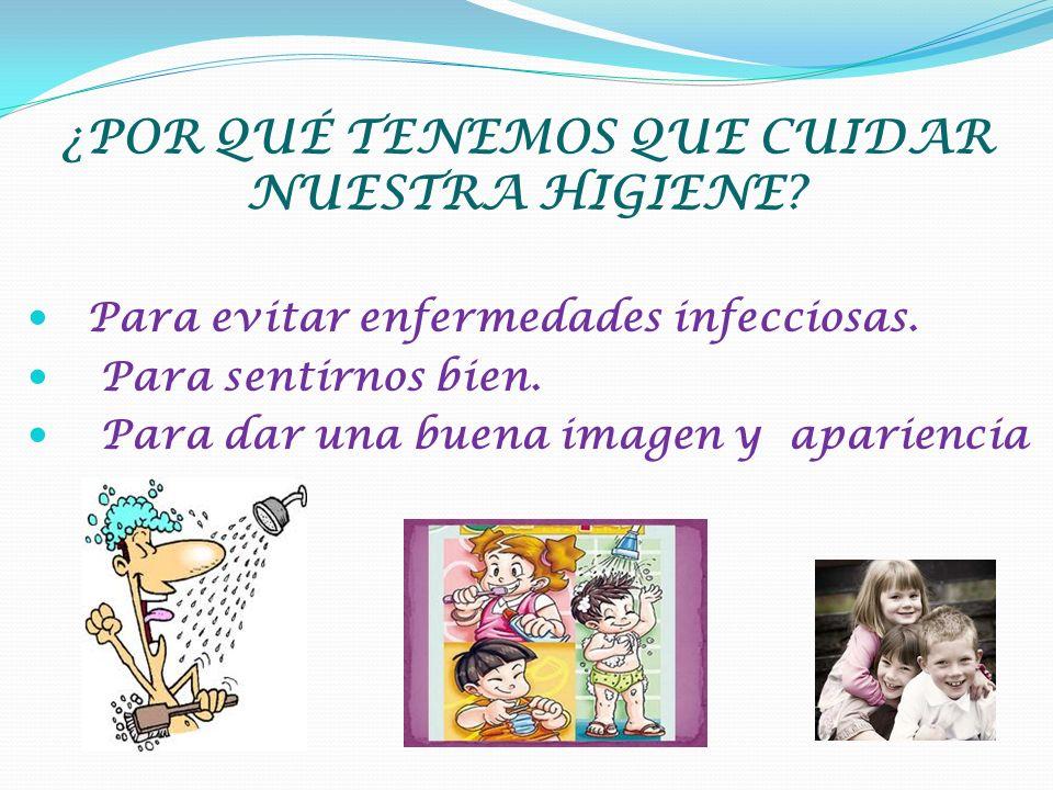 """La presentación """"HIGIENE PERSONAL POR: CONCHI RODRÍGUEZ ("""