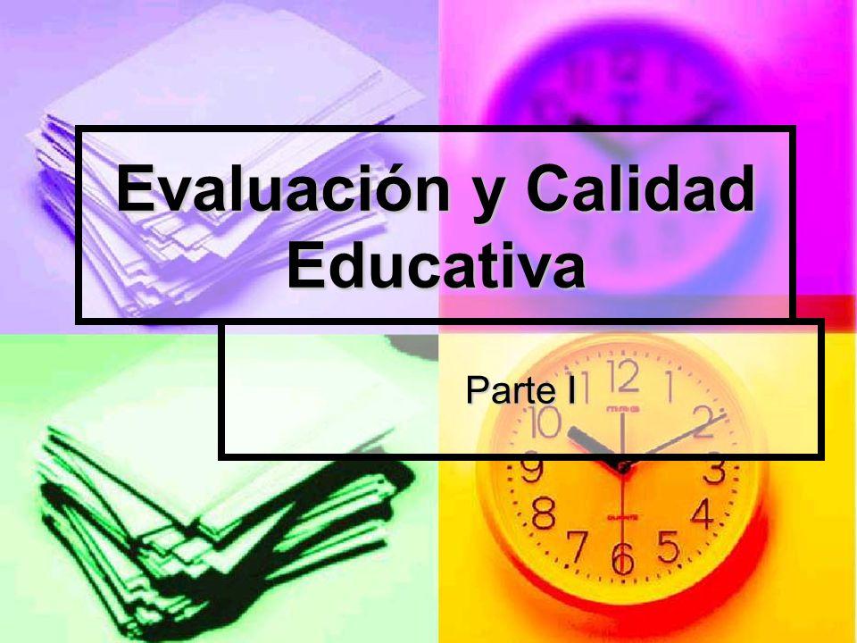CALIDAD EDUCATIVA La calidad educativa es una de las expresiones más utilizadas actualmente en el ámbito educativo, como el punto de referencia que justifica cualquier proceso de cambio o programa de acción.