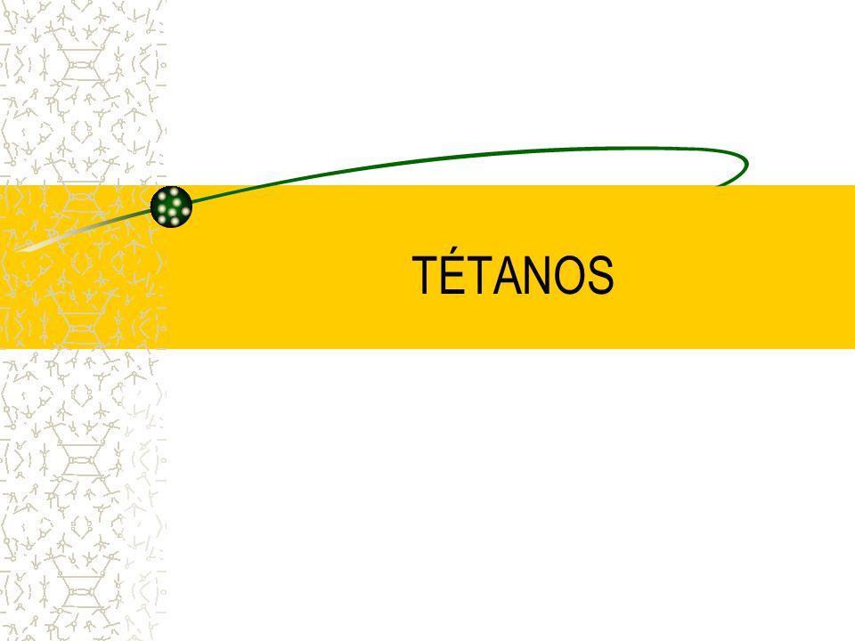 TÉTANOS