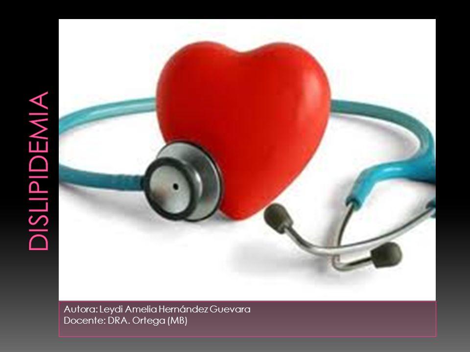 Autora: Leydi Amelia Hernández Guevara Docente: DRA. Ortega (MB)