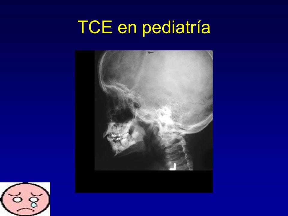 TCE en pediatría