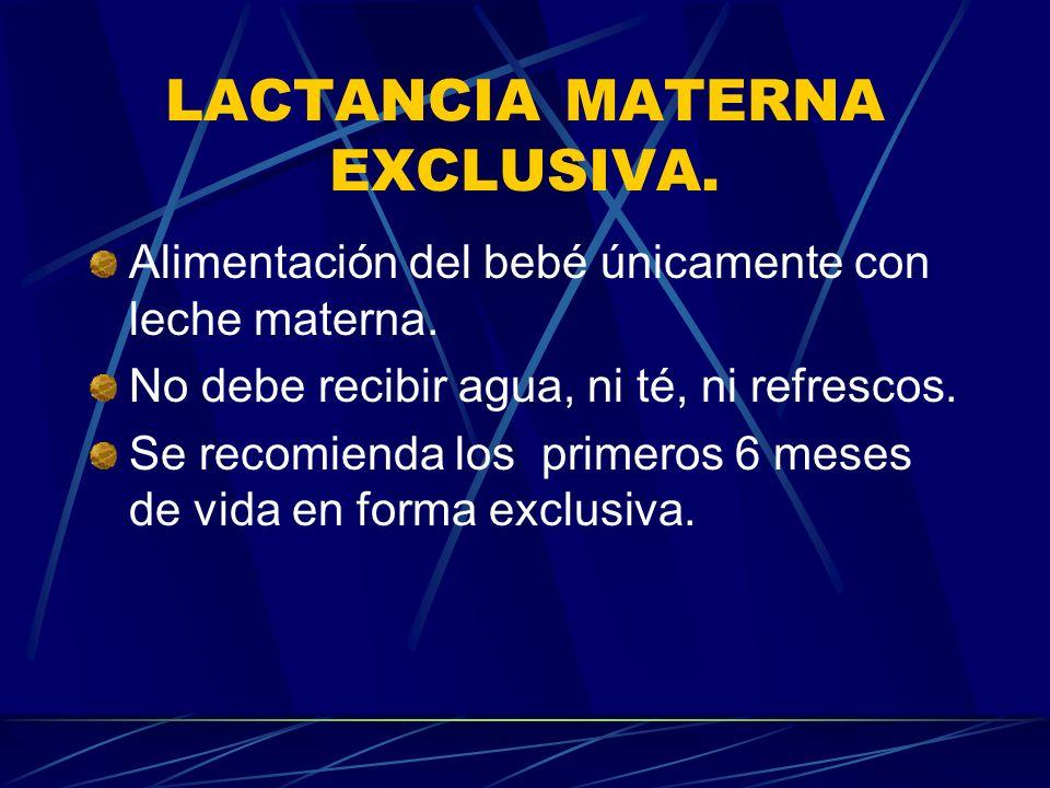 Reflejos en la madre: Reflejo de producción/secreción (prolactina): Mediado por la prolactina.