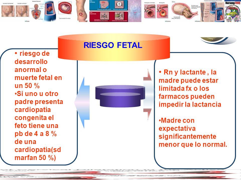 www.thmemgallery.com Company Logo Diagram riesgo de desarrollo anormal o muerte fetal en un 50 % Si uno u otro padre presenta cardiopatia congenita el