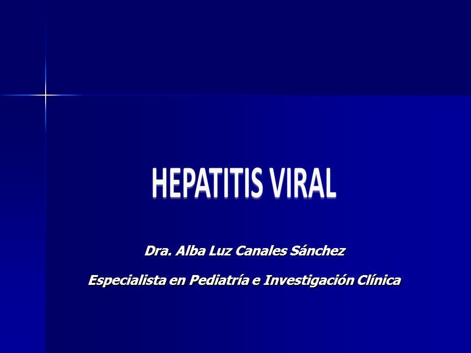 Dra. Alba Luz Canales Sánchez Especialista en Pediatría e Investigación Clínica