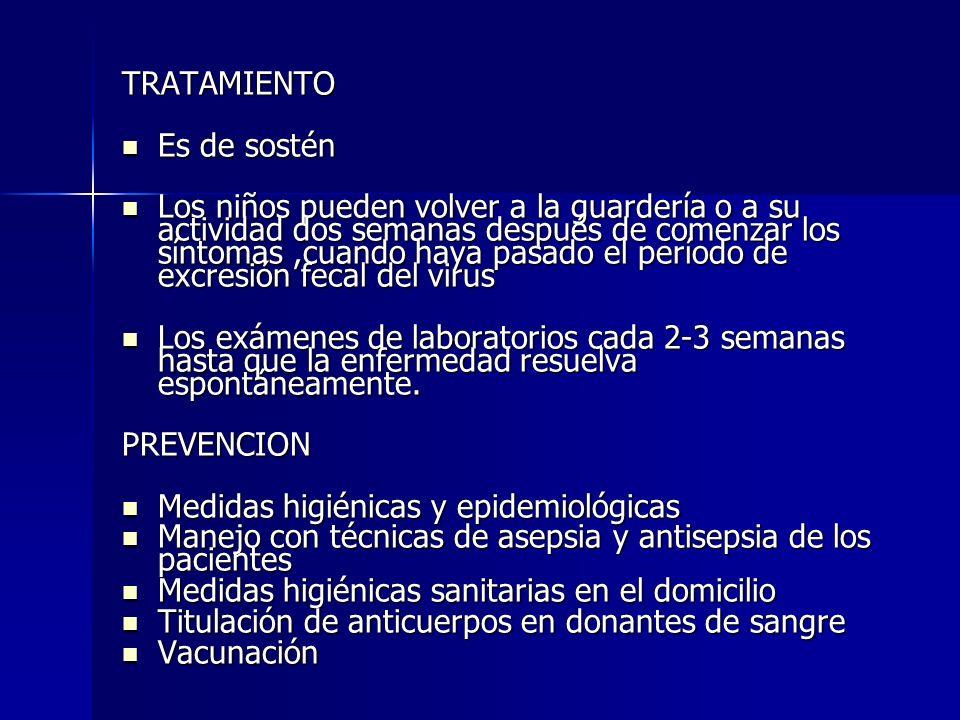 Epidemiologia Ha sido descrita en todos los grupos de edad Ha sido descrita en todos los grupos de edad Población infantil en riesgo: pacientes que requieren medicación IV crónica, transfusión múltiple, IRC, hemodiálisis y post trasplante Población infantil en riesgo: pacientes que requieren medicación IV crónica, transfusión múltiple, IRC, hemodiálisis y post trasplante PERIODO DE INCUBACION Promedio de la infección es de 6 a 7 semanas con un rango de 2 semanas a 6 meses Promedio de la infección es de 6 a 7 semanas con un rango de 2 semanas a 6 meses