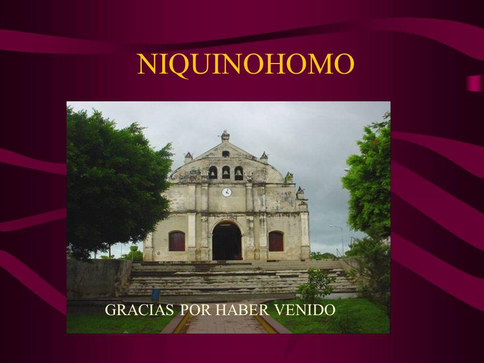 NIQUINOHOMO GRACIAS POR HABER VENIDO
