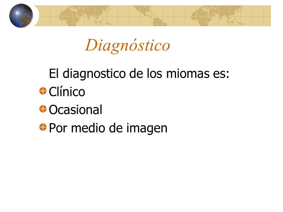 29 CUADRO CLÍNICO Los signos encontrados son los siguientes: EXAMEN ABDOMINAL: Si el mioma es grande, se palpan nódulos firmes, irregulares y en algun