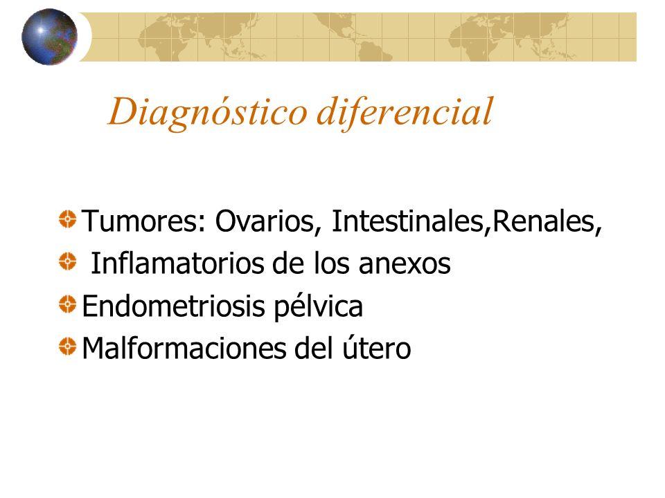 31 DIAGNÓSTICO 1. - Historia clínica completa, con histerometría. 2. - Estudios paraclínicos: Biometría hemática. Radiografía simple de abdomen. Ecoso