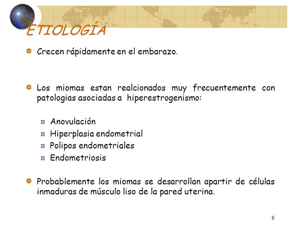 28 CUADRO CLÍNICO Trastornos reproductivos.