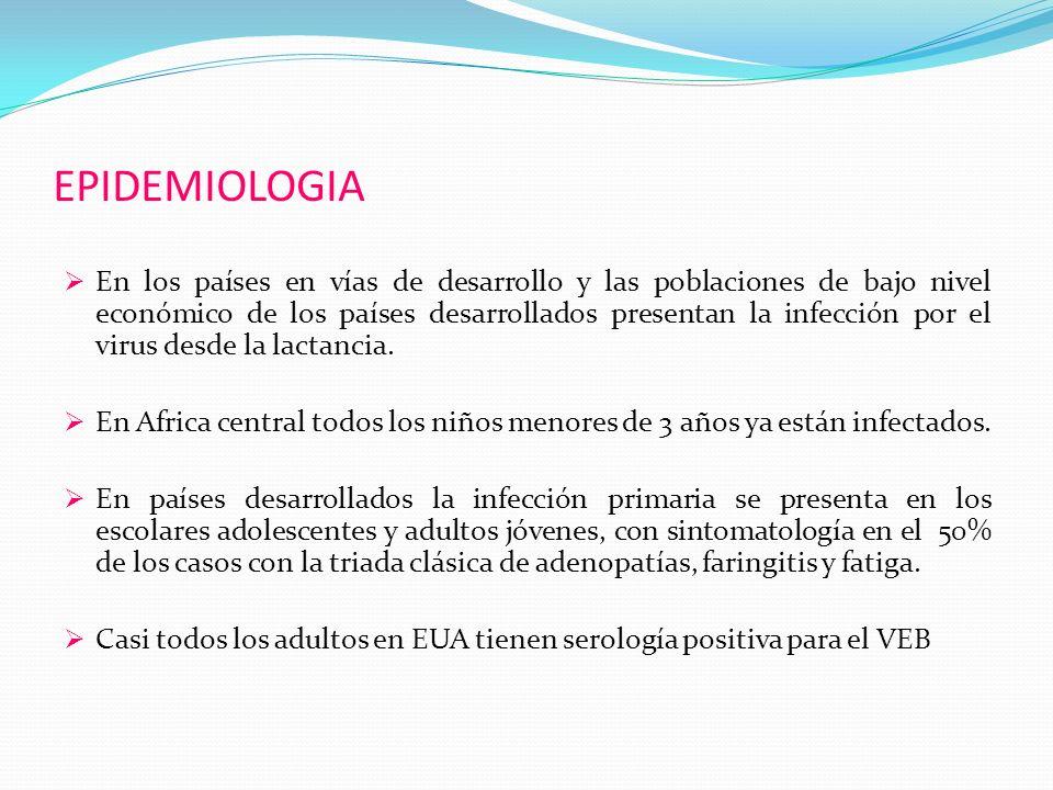 EPIDEMIOLOGIA En los países en vías de desarrollo y las poblaciones de bajo nivel económico de los países desarrollados presentan la infección por el