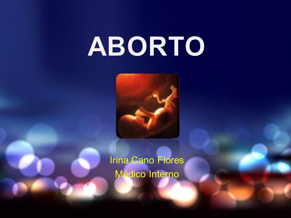 ABORTO SÉPTICO ATB hasta que la px.Este afebril por 48hrs.