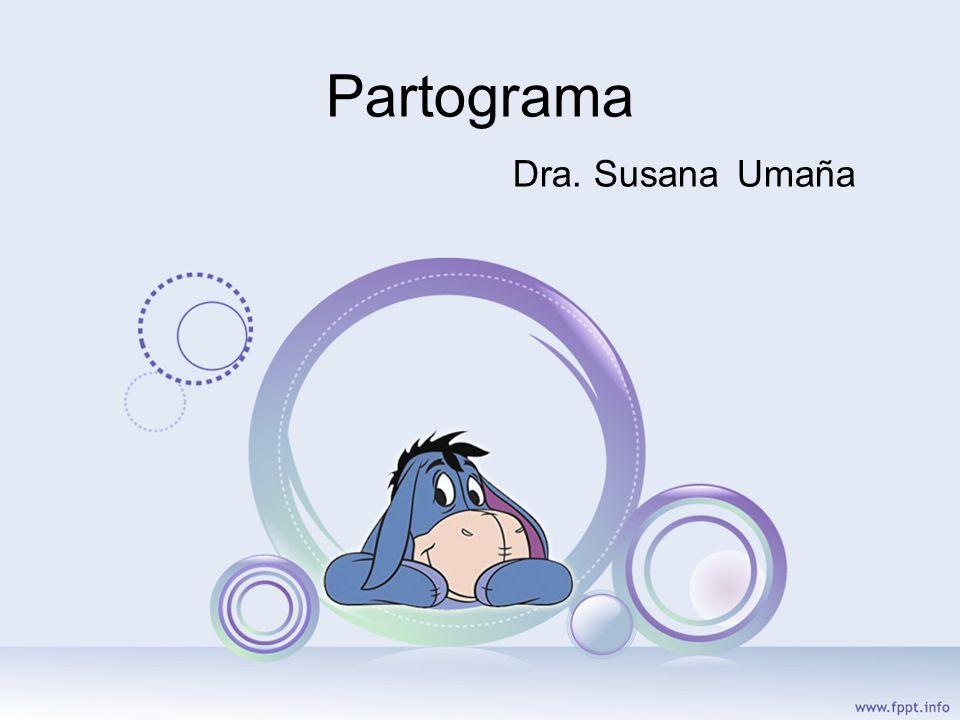 PARTOGRAMA Toda paciente en trabajo de parto debe tener un partograma.