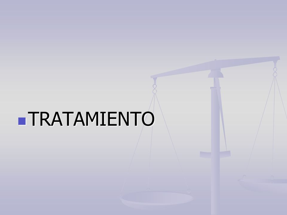 TRATAMIENTO TRATAMIENTO