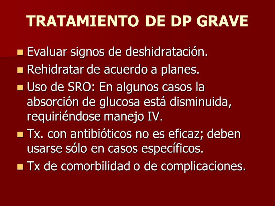 DP NO GRAVE Manejo ambulatorio.Manejo ambulatorio.