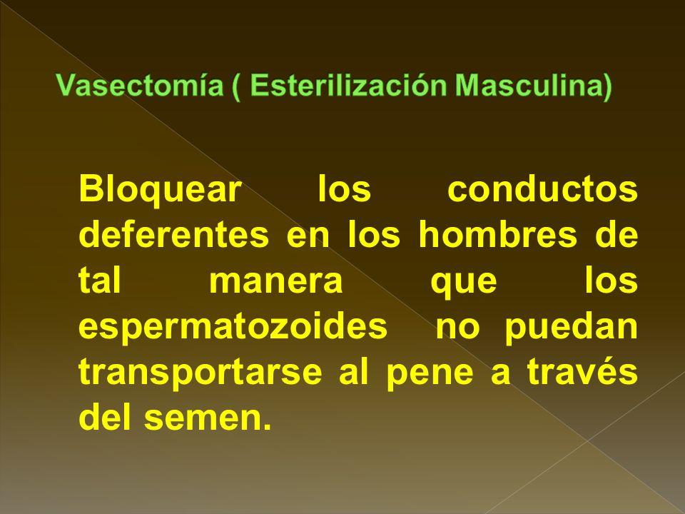 La única posibilidad es la permeabilización de las trompas mediante cirugía. La cirugía para revertir la esterilización es más importante y solo es ex
