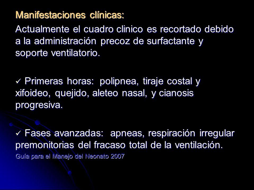 Criterios diagnósticos: 1.