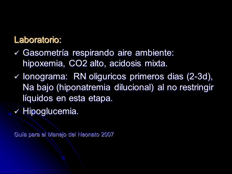 Diagnostico diferencial: 1.TTRN 2. Neumonía bacteriana 3.