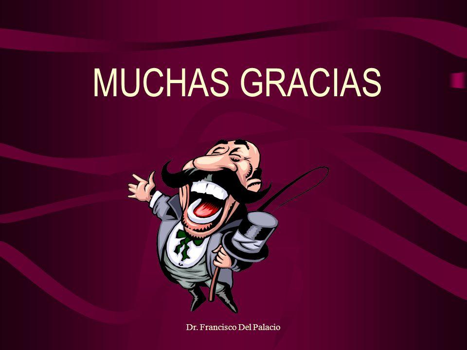 Dr. Francisco Del Palacio MUCHAS GRACIAS