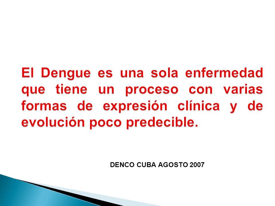 DENCO CUBA AGOSTO 2007