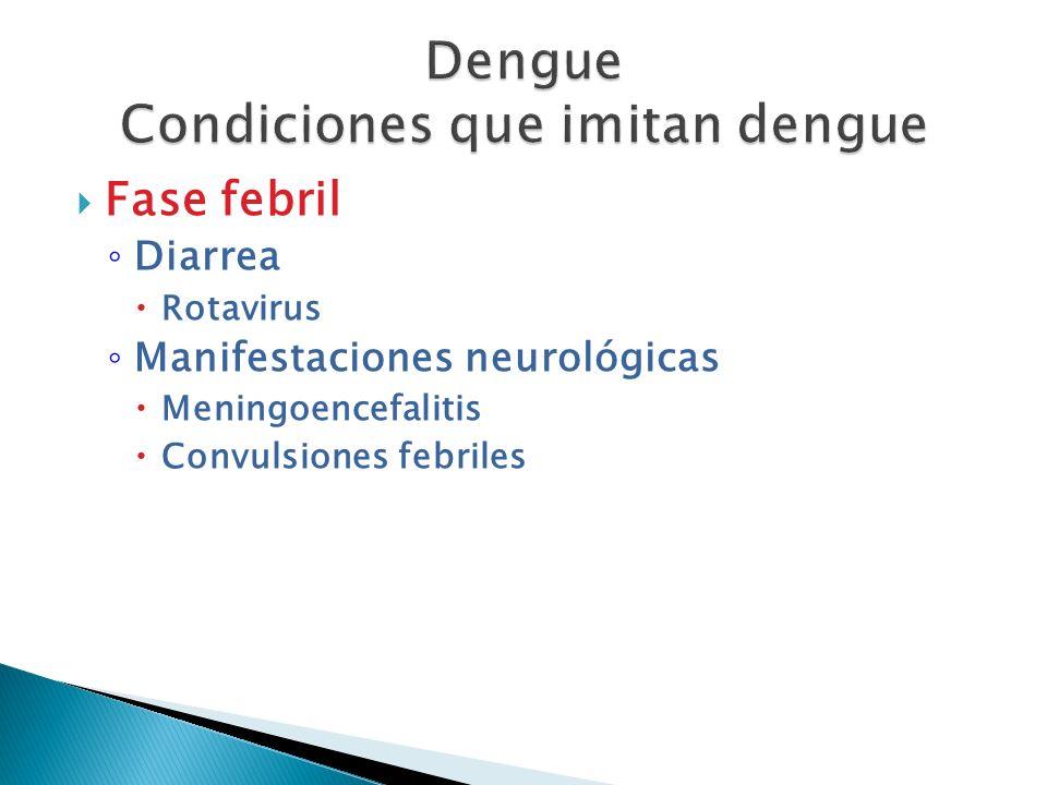 Fase febril Diarrea Rotavirus Manifestaciones neurológicas Meningoencefalitis Convulsiones febriles