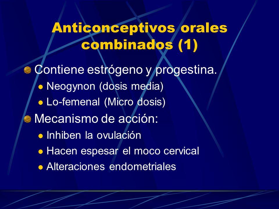 Métodos de planificación Familiar Otros métodos Antiprogestinas RU-486 Tecnología futura Vacuna con subunidad B de la HGC Antígenos purificados de la