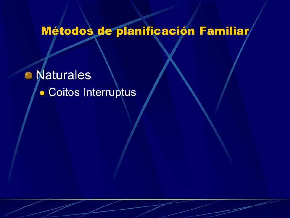 Métodos de planificación Familiar Temporales o Reversibles No quirúrgicos MASCULINOS