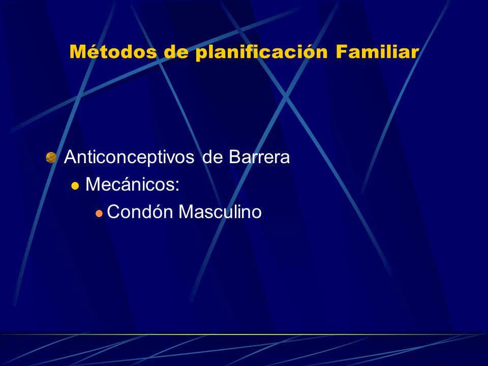Métodos de planificación Familiar Naturales Coitos Interruptus