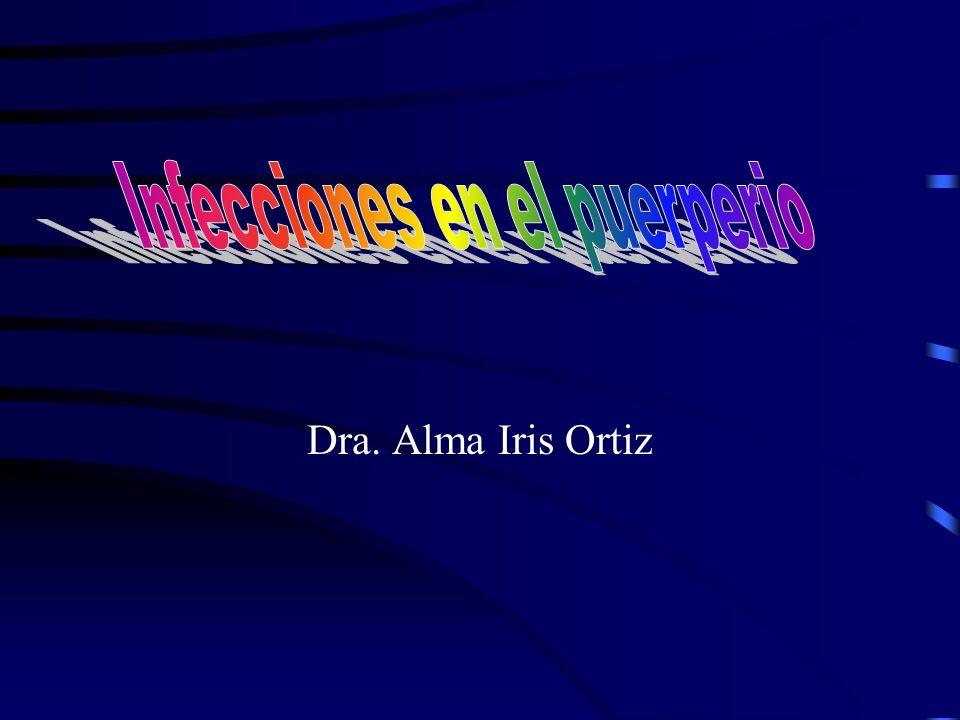 Dra. Alma Iris Ortiz
