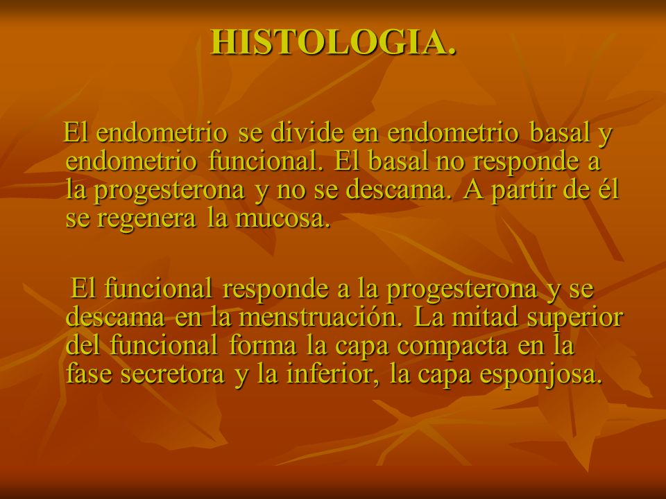Hiperplasias endometriales.