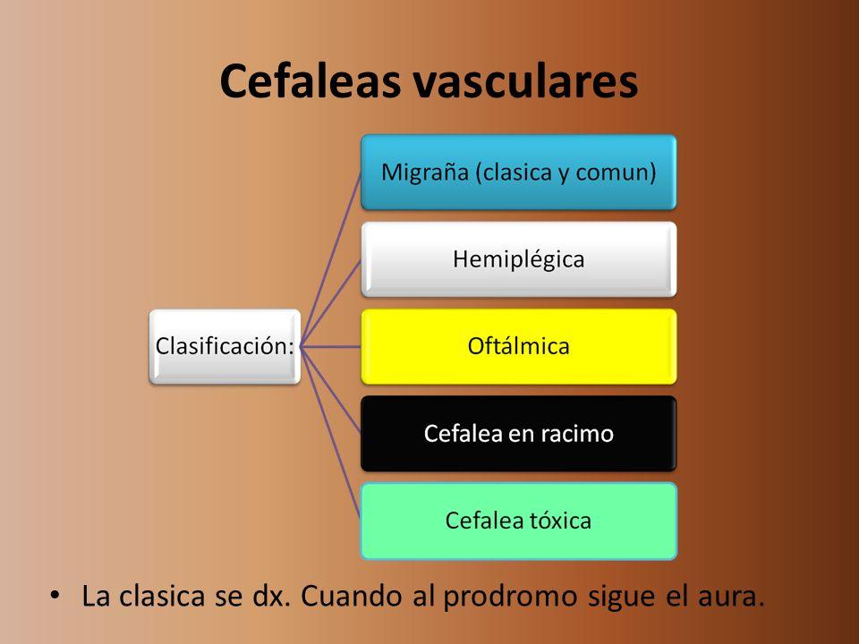 Variantes de cefalea en racimo