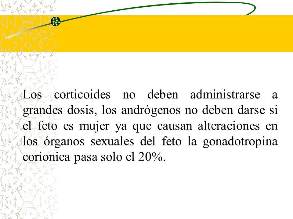 6.Sustancias Hormonales -Progestágenos. -Estrógenos. -Corticoides. -Andrógenos. -A.C.T.H. -Insulina. -H.T.S. -H. tiroideas. -Gonadotropina Corionica.