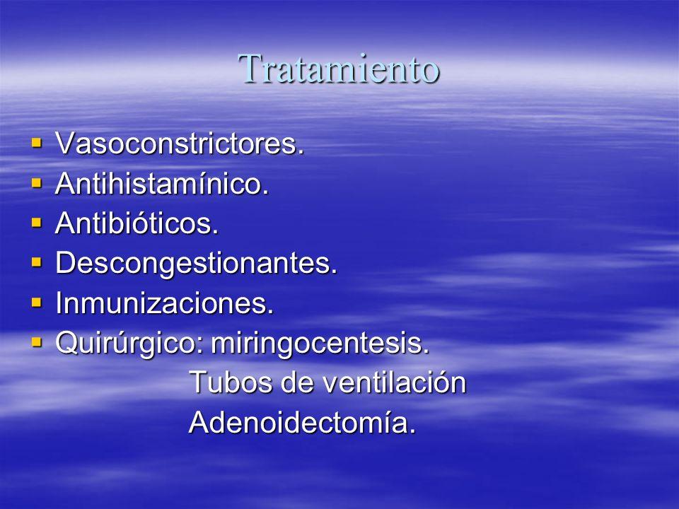 Sindrome de la trompa insuficientes.