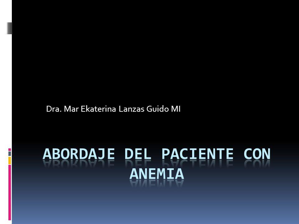 ANEMIA DIAGNOSTICO MACROCITICAS DOSIFICAR B12 Y ACIDO FOLICO ASPIRADO Y BIOPSIA DE MEDULA OSEA INVESTIGAR CAUSA