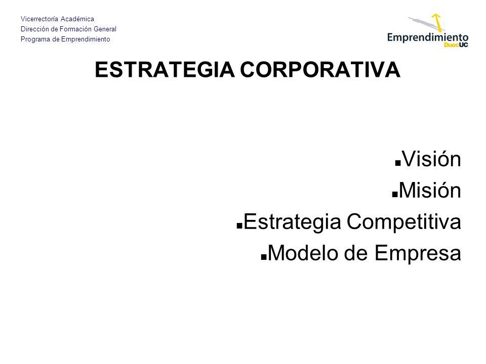 Vicerrectoría Académica Dirección de Formación General Programa de Emprendimiento VENTAJA COMPETITIVA La ventaja competitiva, debe ser algo que, en forma efectiva, diferencia a mi empresa de las ofertas que los competidores les pueden hacer a mis clientes.