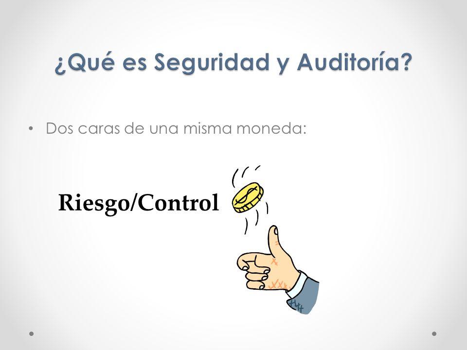 Dos caras de una misma moneda: Riesgo/Control