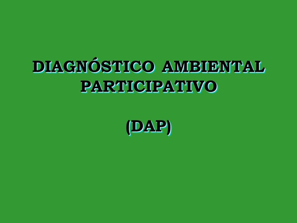 23-Ene-142 DefiniciónDefinición El diagnóstico ambiental participativo es un instrumento que ayuda a identificar los problemas ambientales que existen en la Institución Educativa y en la comunidad cercana.