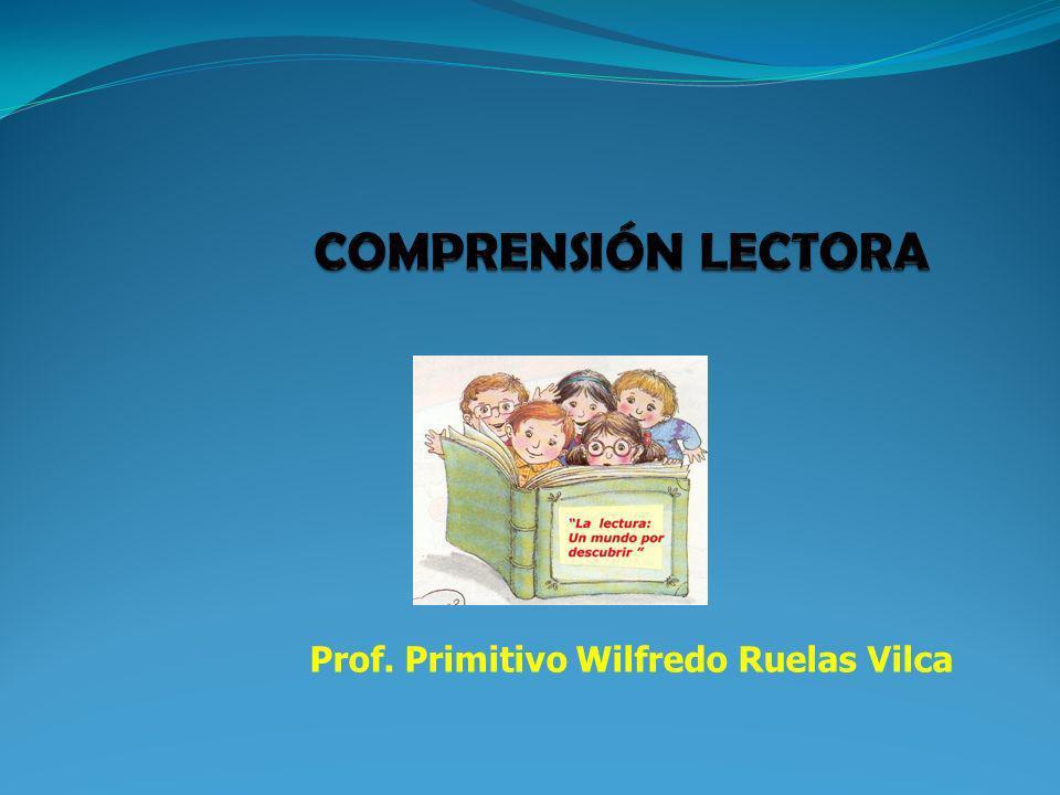 Prof. Primitivo Wilfredo Ruelas Vilca