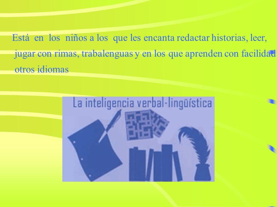 Inteligencia Lingüística es la capacidad de usar las palabras de manera efectiva, en forma oral o escrita. Incluye la habilidad en el uso de la sintax