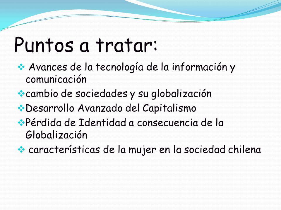 características de la mujer en la sociedad chilena