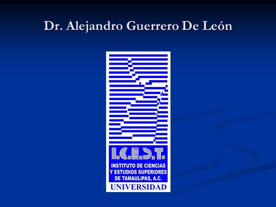 Dr. Alejandro Guerrero De León