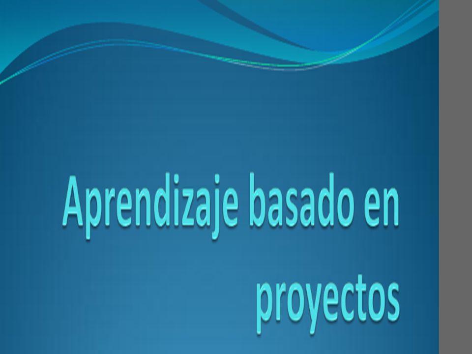 PROYECTOS - CARACTERÍSTICAS Modelo de enseñanza centrado en el estudiante.
