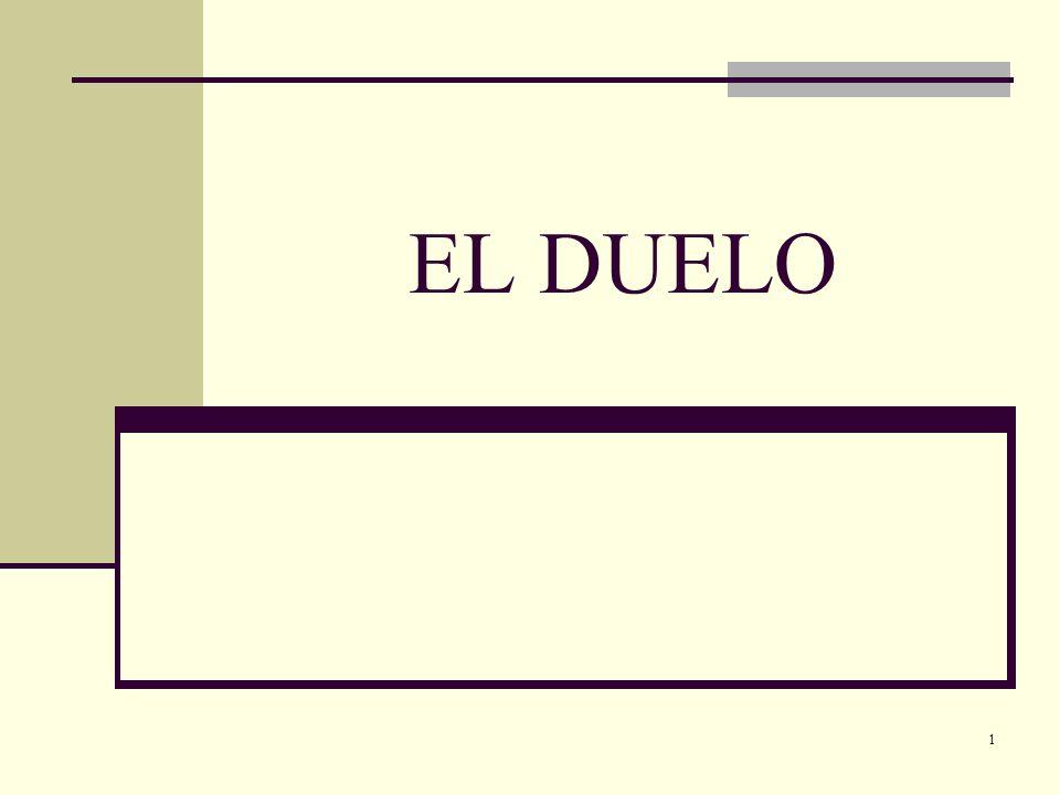 22 Etapas en el Duelo Las etapas en el duelo se pueden resumir (según el Dr.