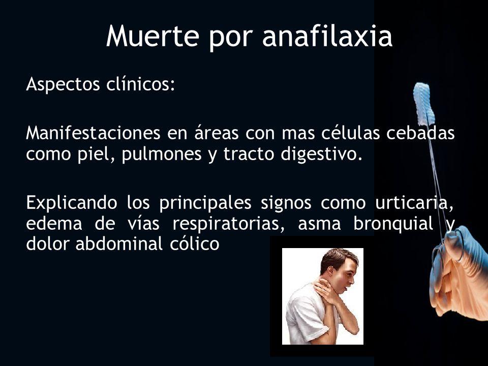 Signos prodrómicos: Angustia Debilidad generalizada Prurito nasal Estornudos Comezón en paladar Sensación rara en pecho o abdomen.