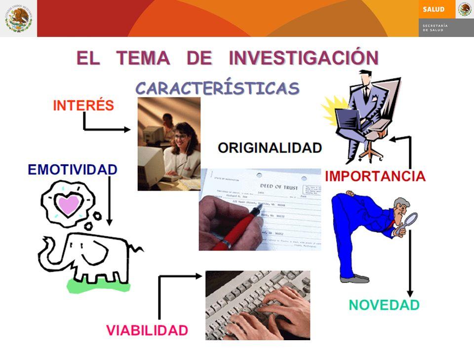 Criterios para generar ideas Las buenas ideas intrigan, alientan y excitan al investigador.