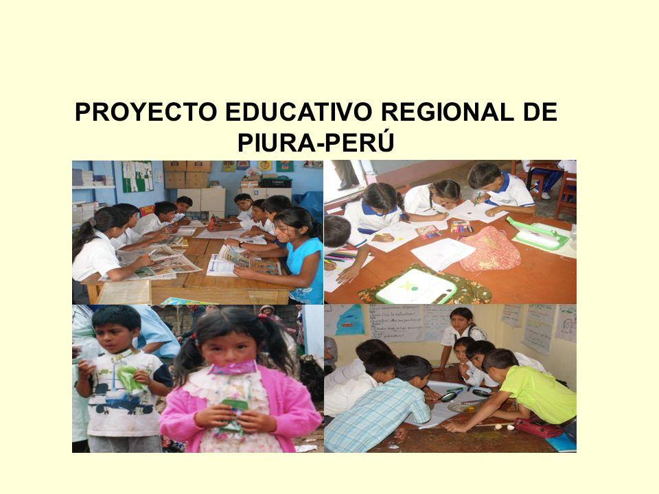 PROYECTO EDUCATIVO REGIONAL DE PIURA-PERÚ