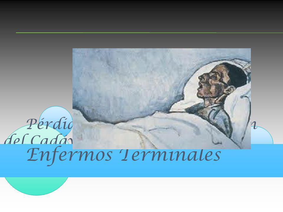 Pérdidas, Duelo y preparación del Cadáver. Enfermos Terminales