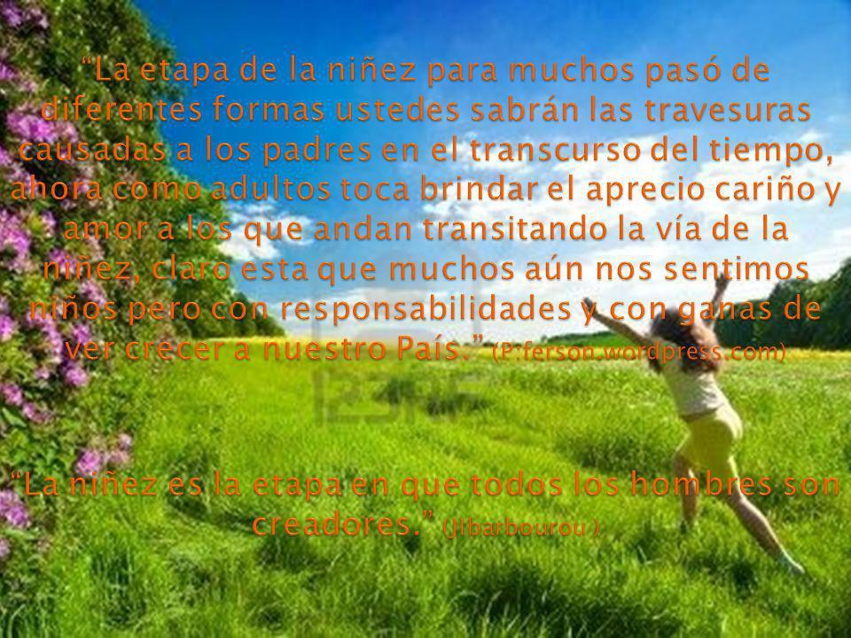 + La percepción del cuidador, influye en la confianza del niño.